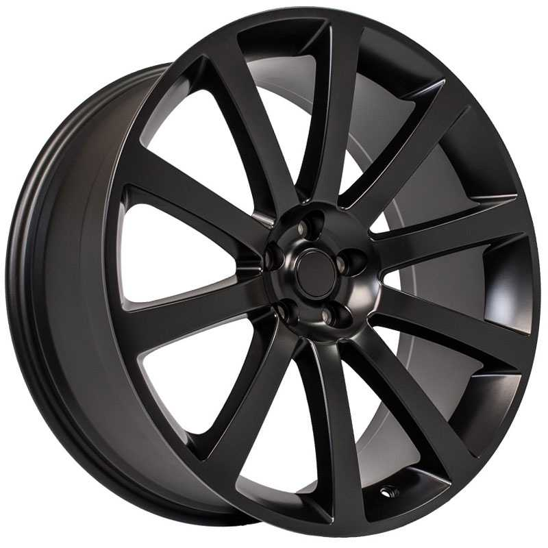 Chrysler 300 SRT Style (CL02)  Wheels Matte Black