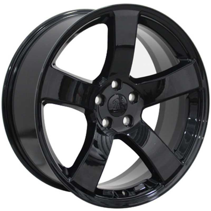 Dodge Charger Style (DG12)  Wheels Black