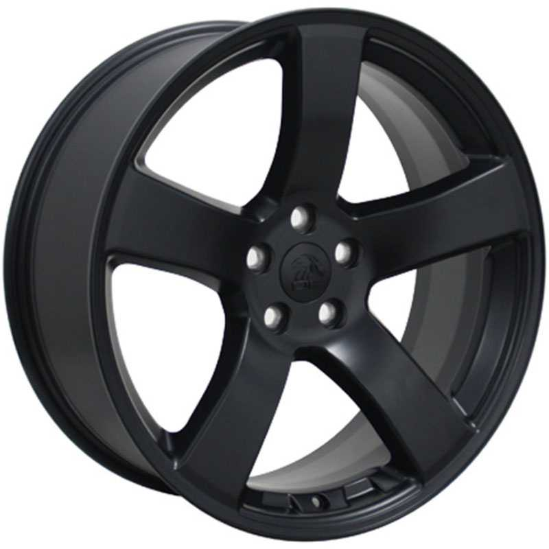 Dodge Charger Style (DG12)  Wheels Matte Black