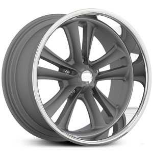 Foose KnuckleF099  Wheels GunMetal Matte
