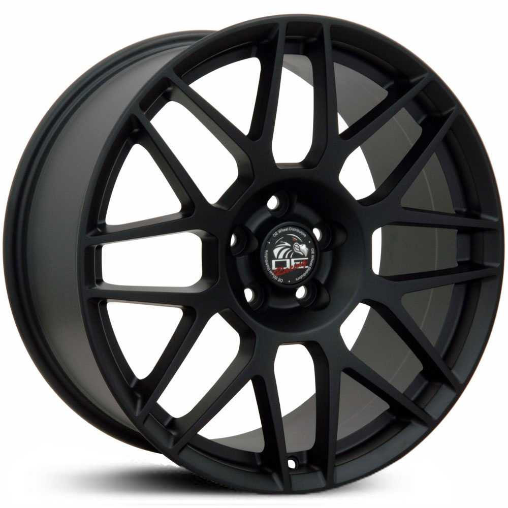 Fits Ford Mustang FR16  Wheels Matte Black