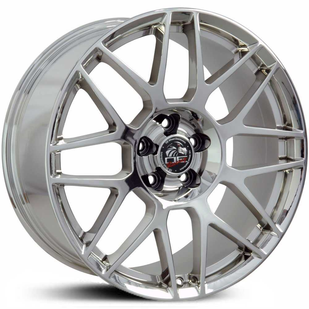 Fits Ford Mustang FR16  Wheels PVD Chrome