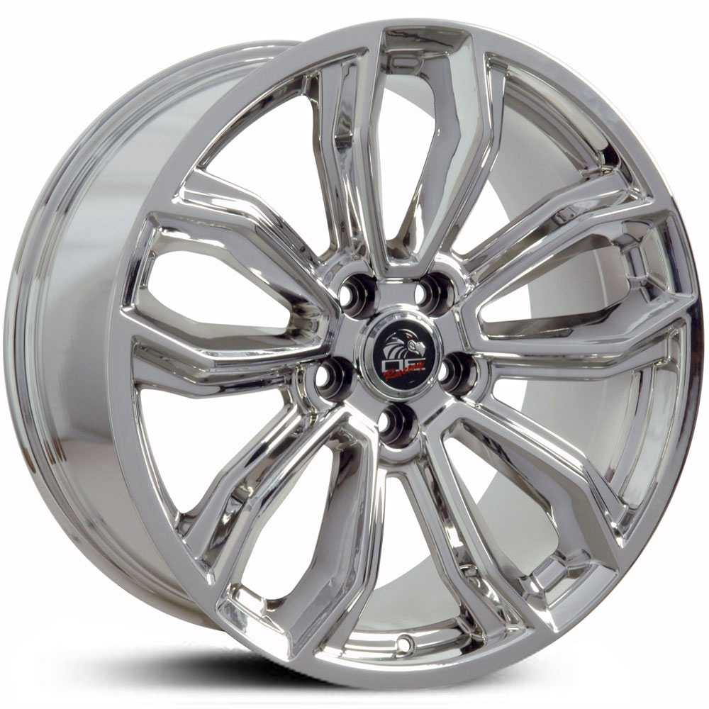 Fits Ford Mustang FR17  Wheels PVD Chrome