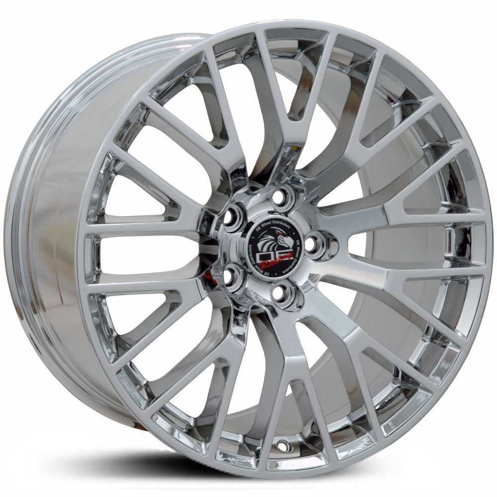 Fits Ford Mustang GT FR19  Wheels PVD Chrome