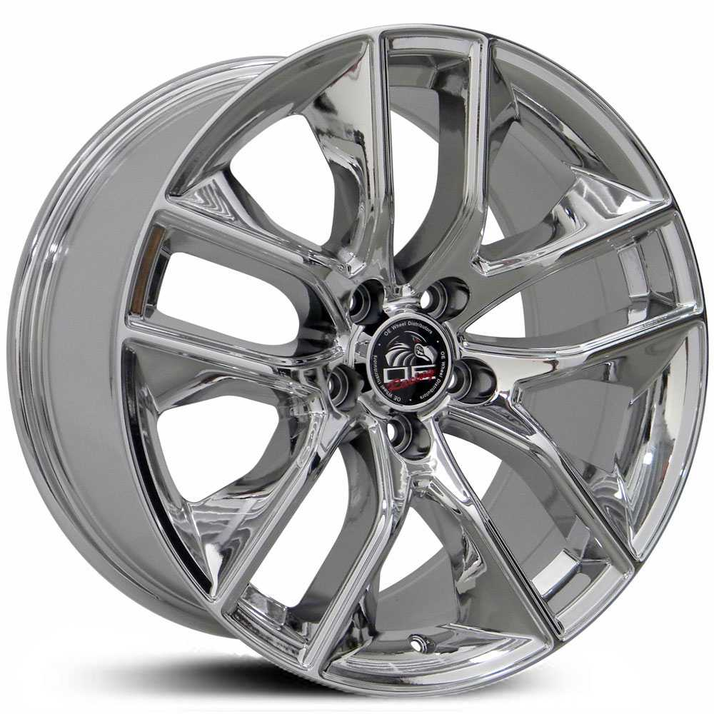 Fits Ford 2015 Mustang FR20  Wheels PVD Chrome