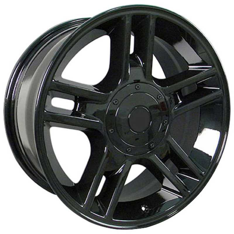 Fits Ford F-150 Harley Style (FR81)  Wheels Black
