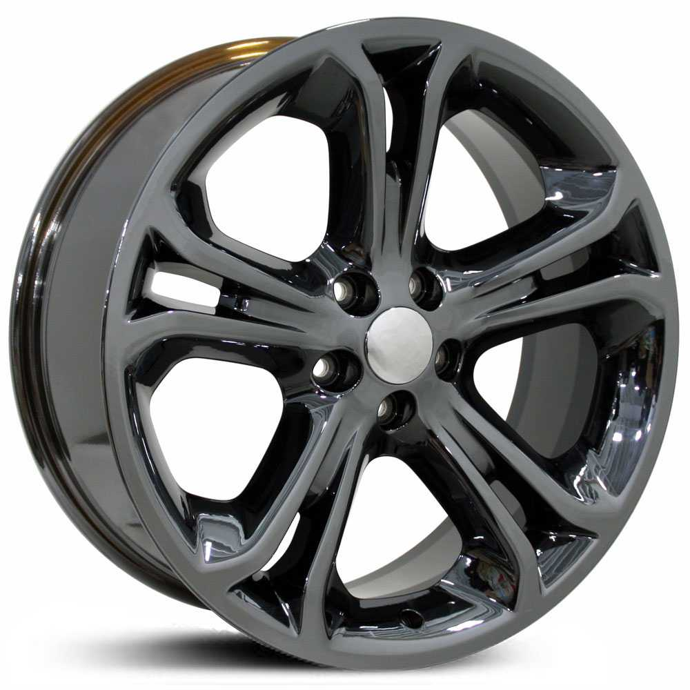 Fits Ford Explorer Style (FR97)  Wheels PVD Black Chrome