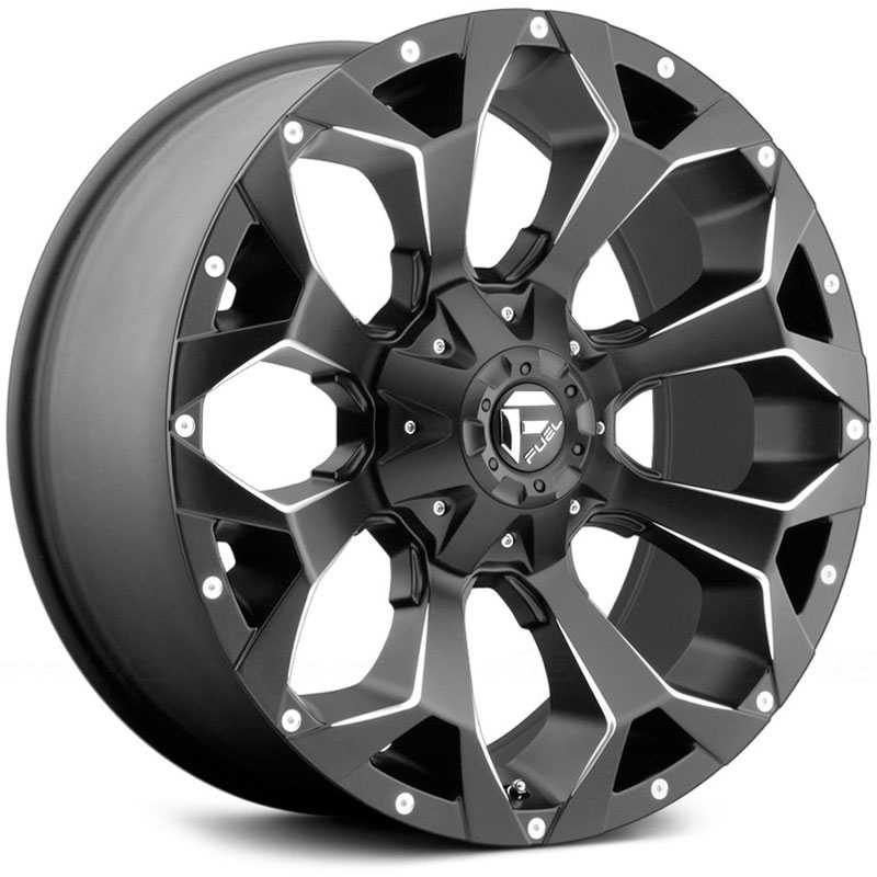 Fuel D546 Assault Matte Black & Milled