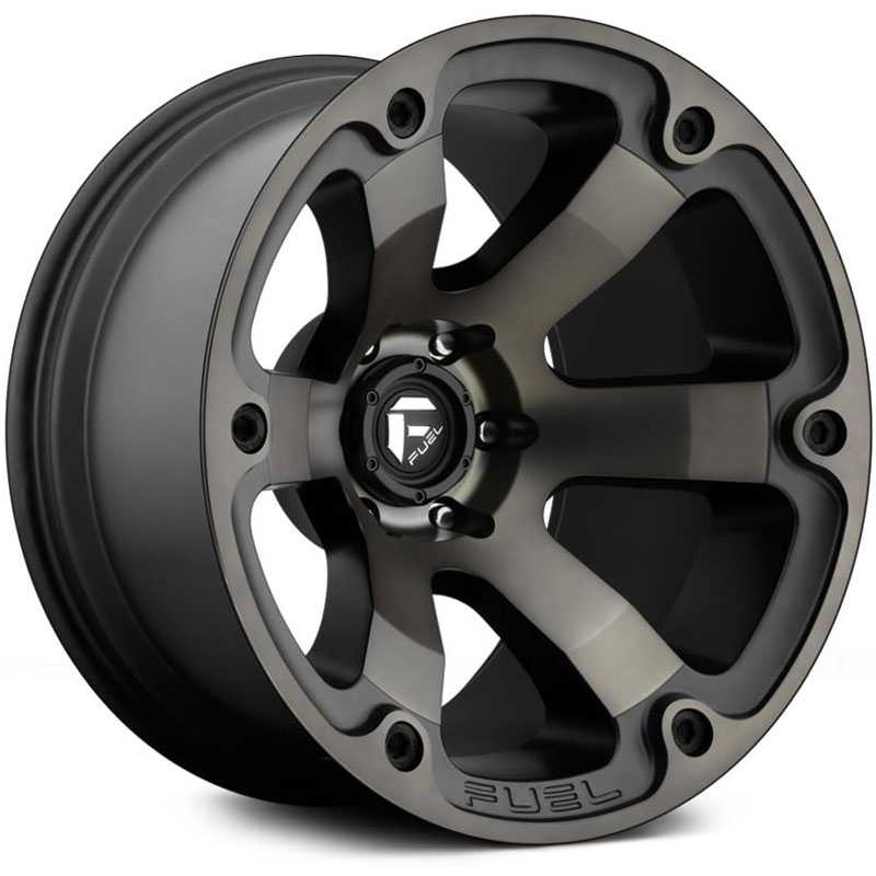 Fuel D564 Beast Matte Black & Machined
