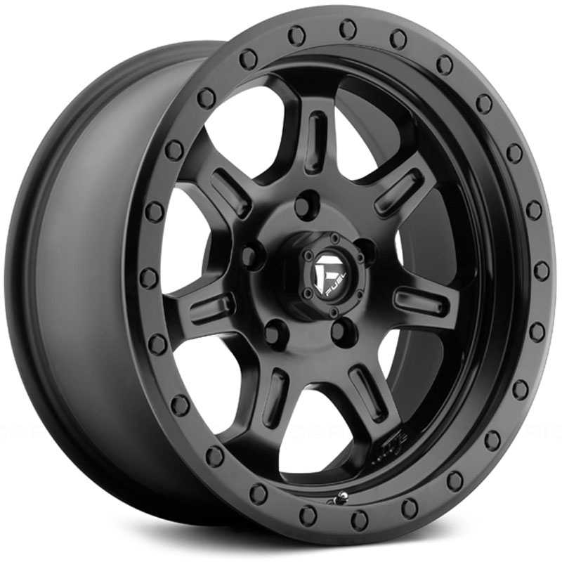 Fuel D572 JM2 Jeremy McGrath  Wheels Matte Black