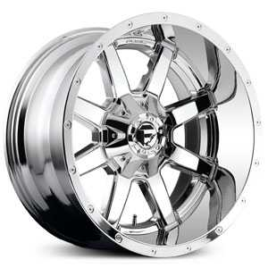 Fuel D566 Maverick  Wheels PVD Deep Lip