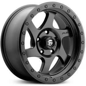 Fuel D570 Rotor  Wheels Matte Black
