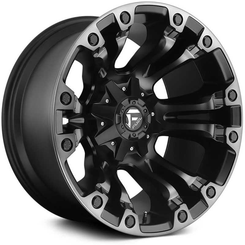 Fuel D569 Vapor Black