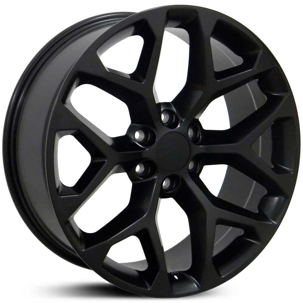 GMC CV98  Wheels Matte Black