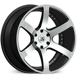 Red Sport RSW-115  Wheels Black & Machined