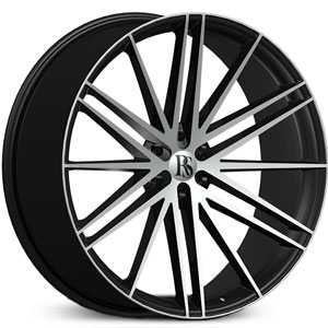Red Sport RSW-120B  Wheels Black & Machined