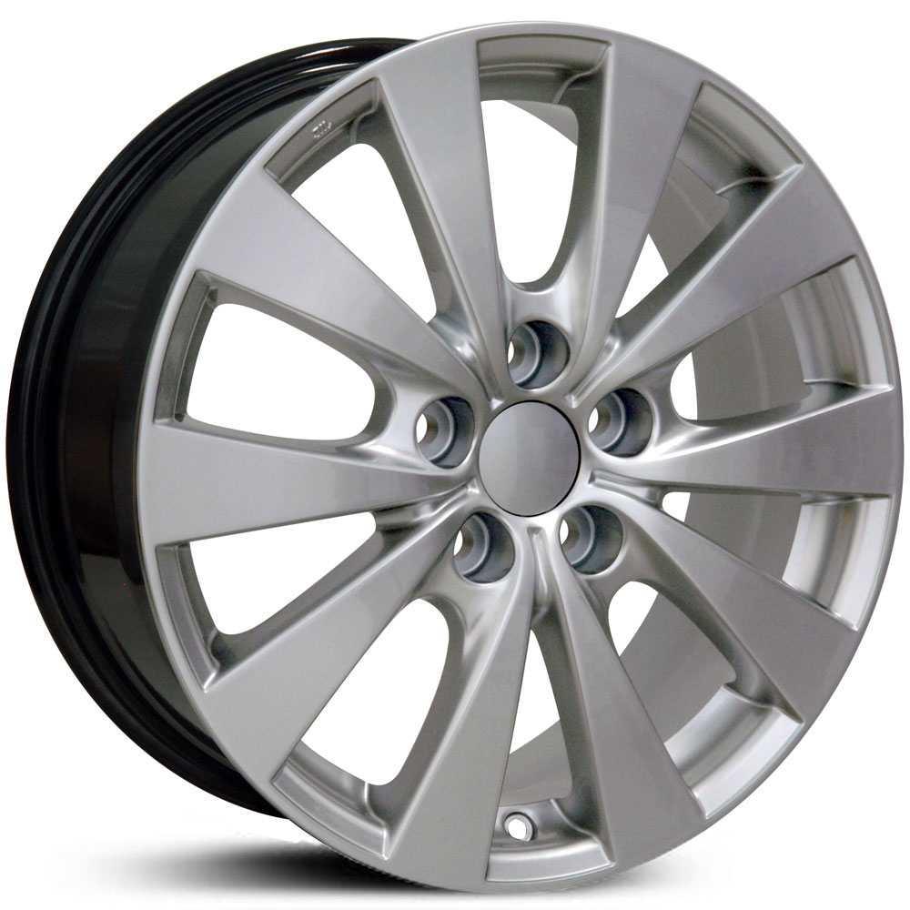 Toyota Avalon Ty Hyper Silver Replica Oem Factory Wheels Rims