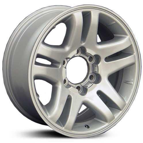 Toyota Tundra Ty Silver Replica Oem Factory Wheels Rims
