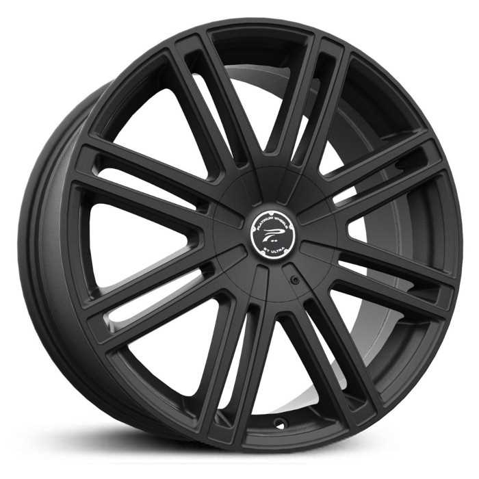 Platinum 434SB Orion  Wheels Satin Black With Clear-Coat