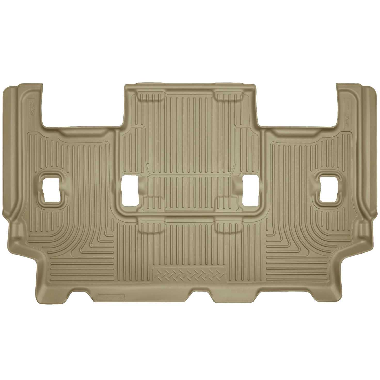 Husky Liners  Ford Expedition El King Ranch Weatherbeater  Pcs Third Row Tan