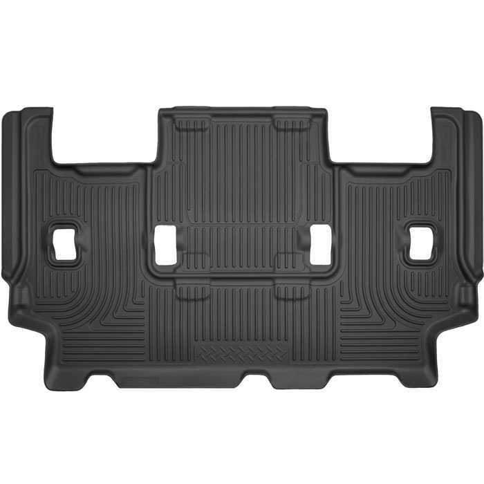 Husky Liners Weatherbeater  Ford Expedition El King Ranch  Pcs Third Row Black