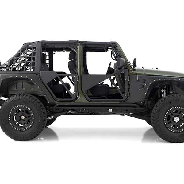 Smittybilt Armor Src Tubular Doors Rear 2007 2015 Jeep