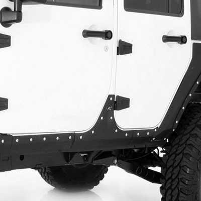 Smittybilt Armor Xrc Body Cladding 2007 2015 Jeep Wrangler