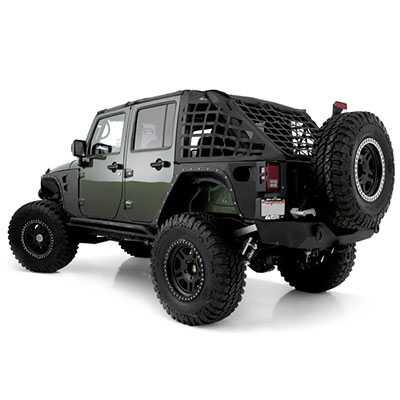 Smittybilt Armor Xrc Front Fenders 2007 2015 Jeep Wrangler
