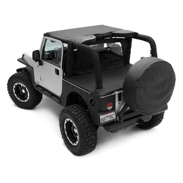 1999 Jeep Wrangler Fenders: Smittybilt Armor XRC Front Tube Fenders 1987-1995 Jeep