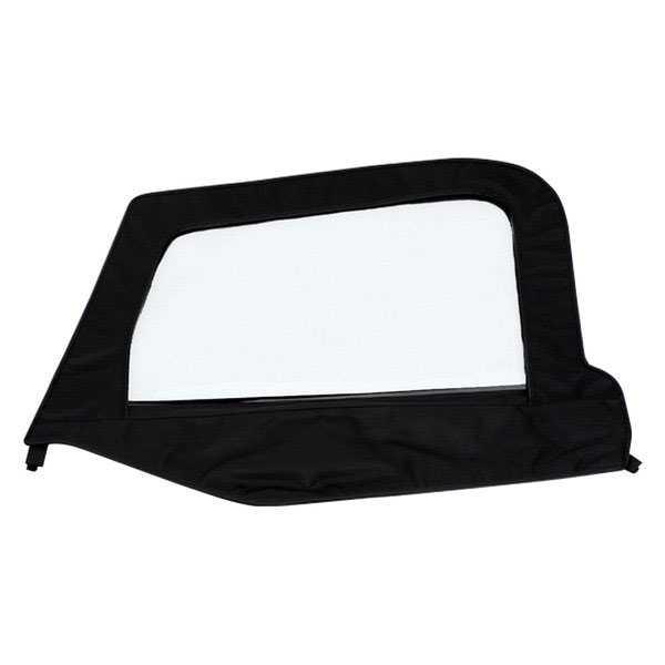 Smittybilt 89511 Denim Black Passenger Side OEM Replacement Soft Top Door Skin with Frame