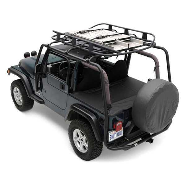 Smittybilt Racks Src Roof Rack 1987 1995 Jeep Wrangler Yj 300 Lb Rating Black Textured