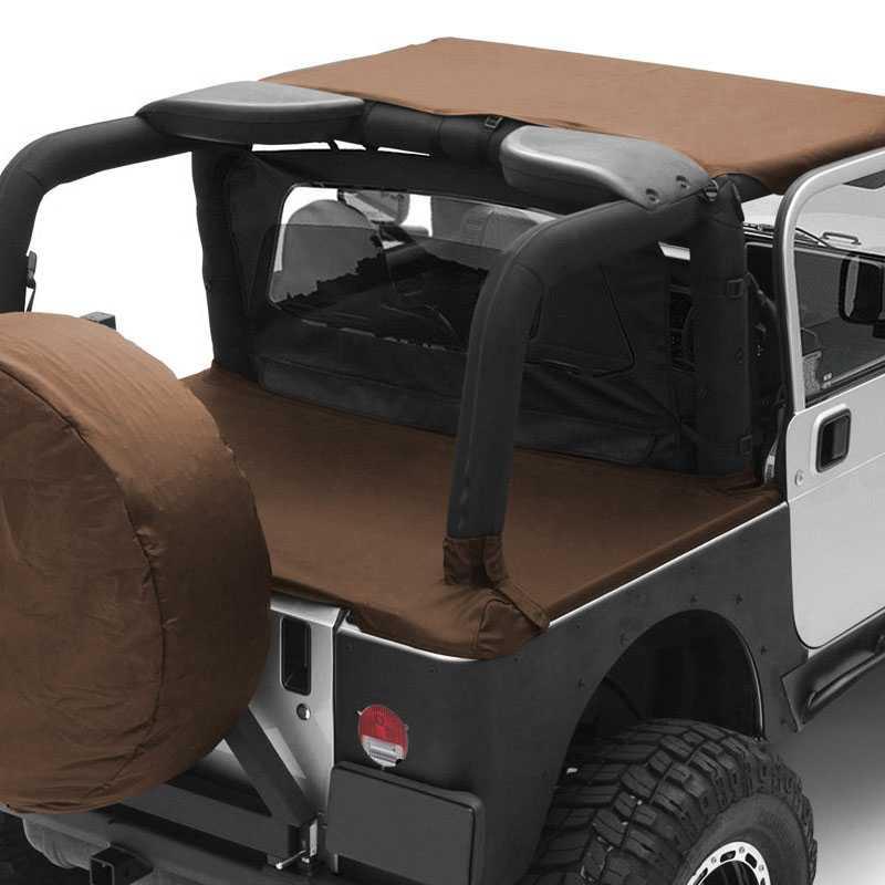 Jeep Wrangler Top Accessories: Smittybilt 1992-1995 Jeep Wrangler (YJ)