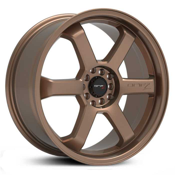 Drifz 303BZ Hole Shot  Wheels Satin Bronze