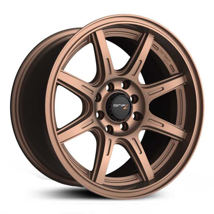 Drifz 308BZ Spec-R  Wheels Gloss Bronze