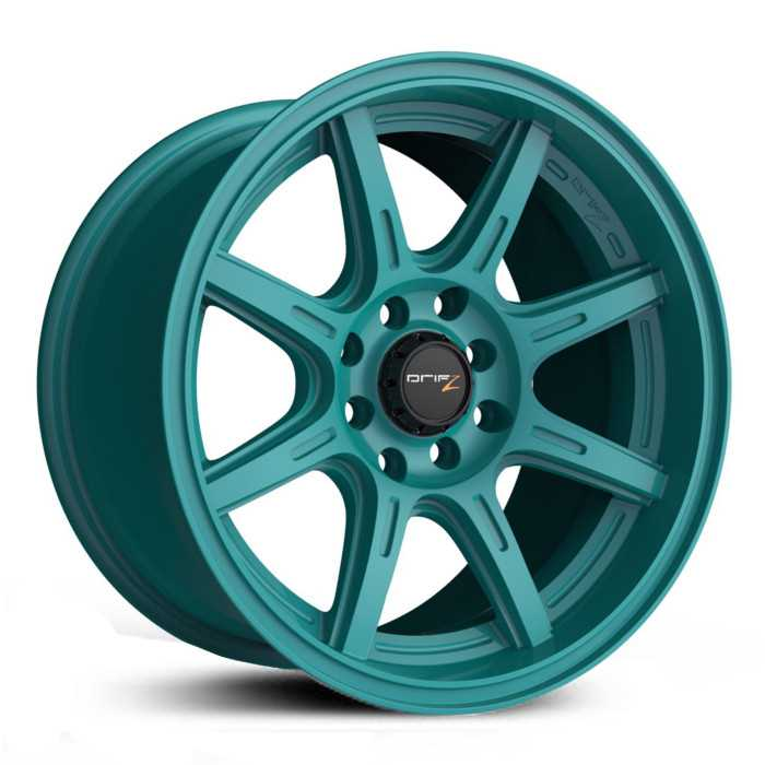 Drifz 308TG Spec-R  Wheels Gloss Teal Green