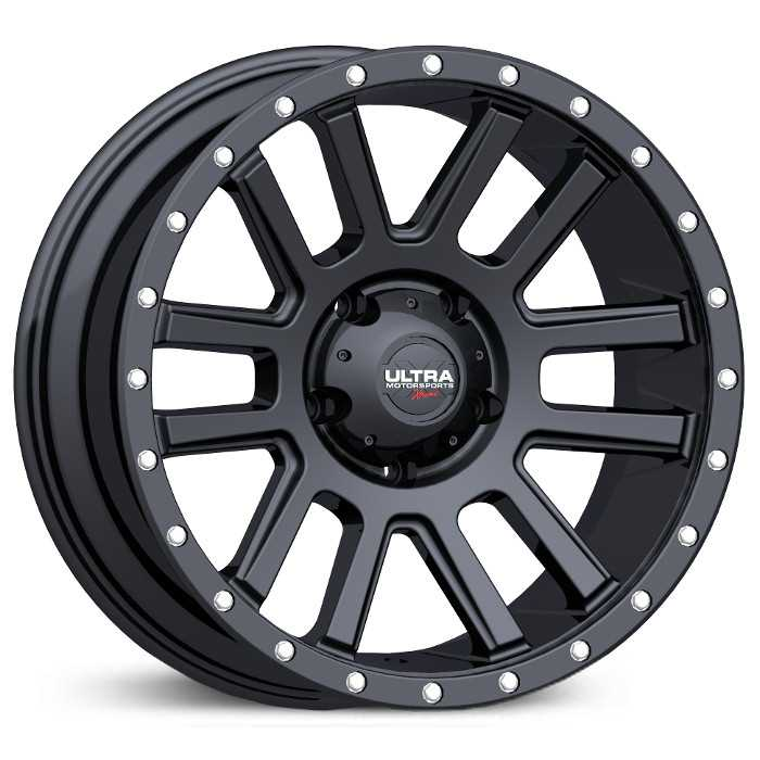 107SB Xtreme X107 Satin Black w/ Black X-lok Lip & Clear-Coat