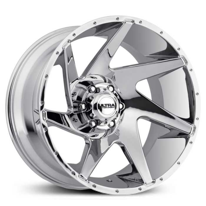 Ultra 206C Vortex   Wheels Chrome