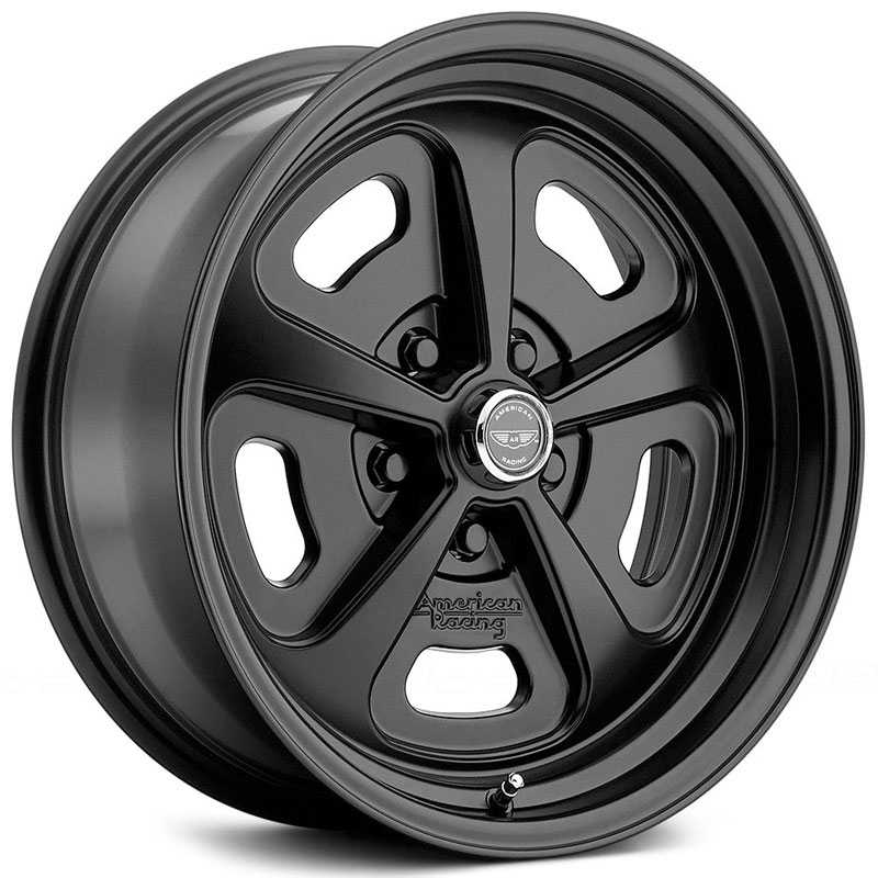 American Racing Vintage VN501  Wheels Satin Black
