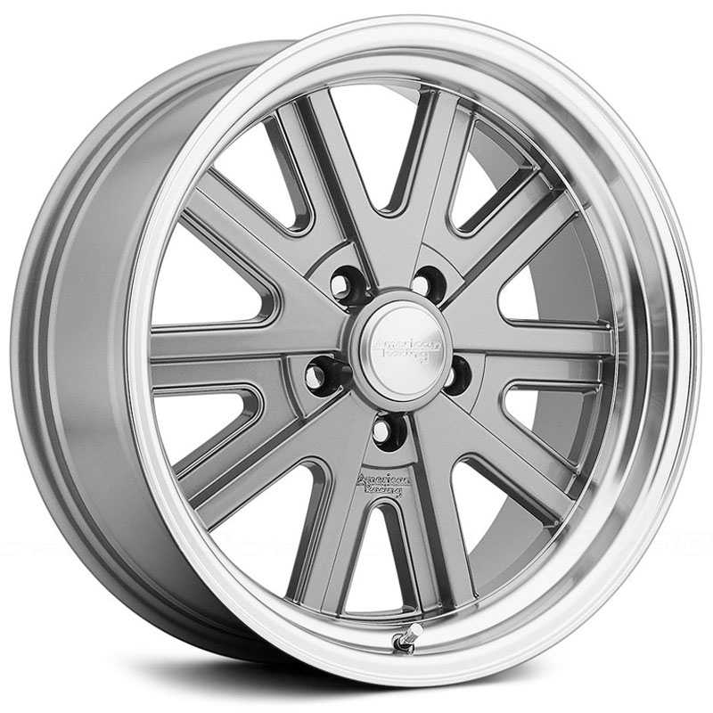 American Racing Vintage VN527  Wheels Mag Grey Machined Lip