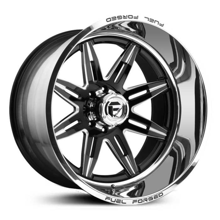 Fuel Forged FFC26 Forged Concave  Wheels Black Milled