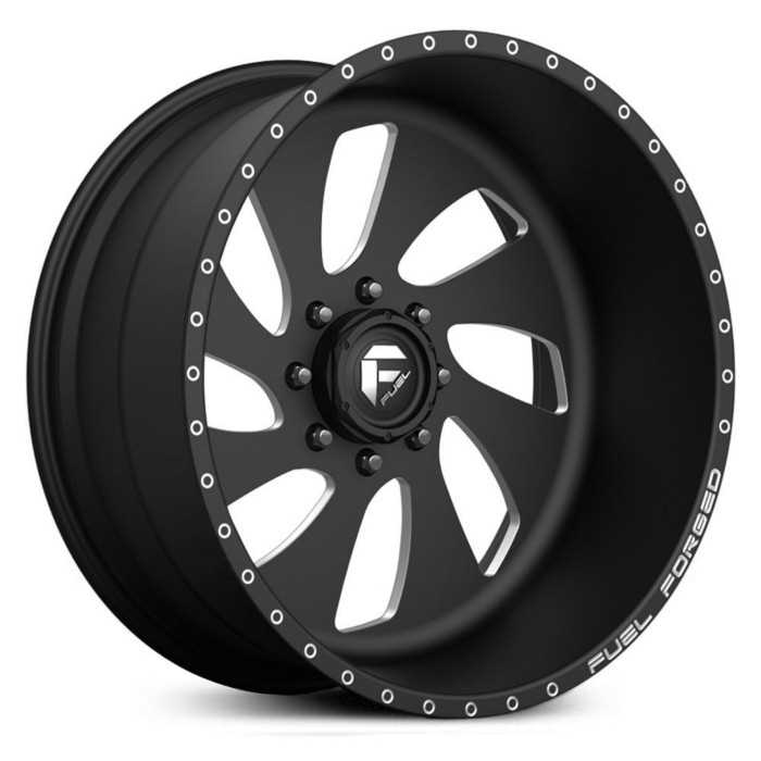 Fuel Forged FF11 Forged  Wheels Black Milled