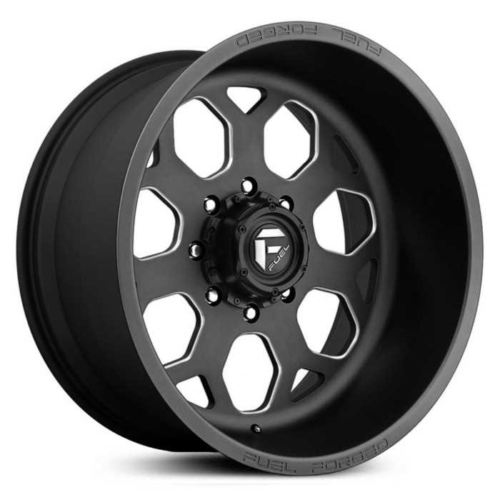 Fuel Forged FF14 Forged  Wheels Black Milled