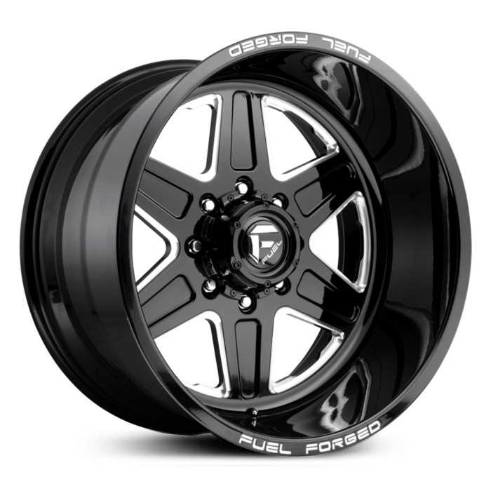Fuel Forged FF15 Forged  Wheels Black Milled