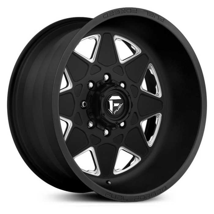 Fuel Forged FF18 Forged  Wheels Black Milled