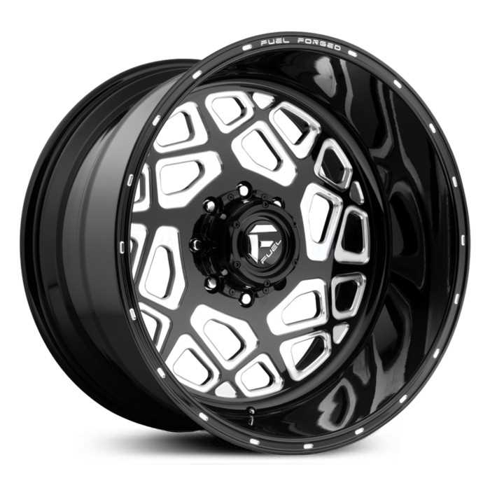 Fuel Forged FF23 Forged  Wheels Black Milled