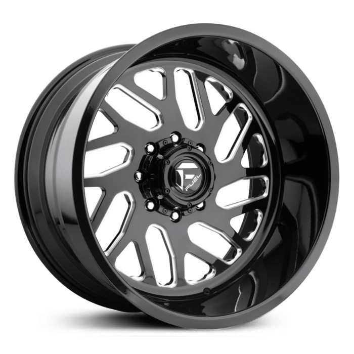 Fuel Forged FF29 Forged  Wheels Black Milled