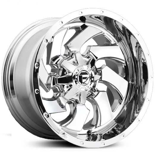 Fuel D573 Cleaver Deep Lip  Wheels Chrome