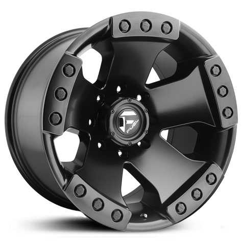 Fuel D577 Monsta  Wheels Matte Black