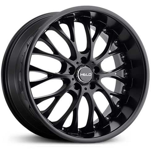 Helo HE890  Wheels Satin Black