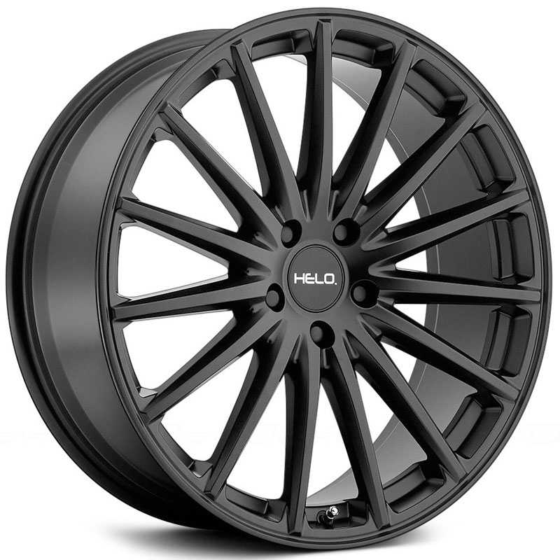 Helo HE894  Wheels Satin Black